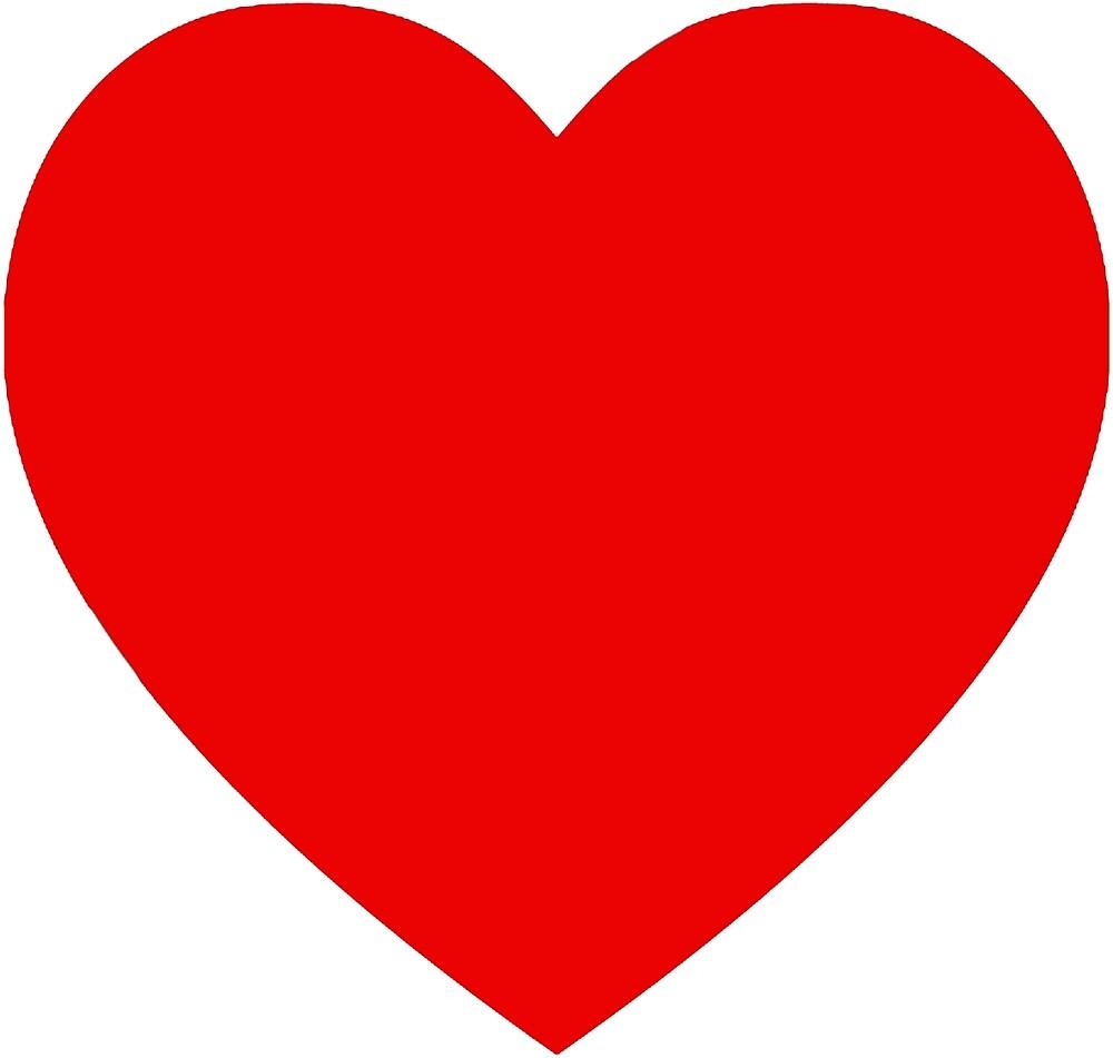 Red heart by rachelshade