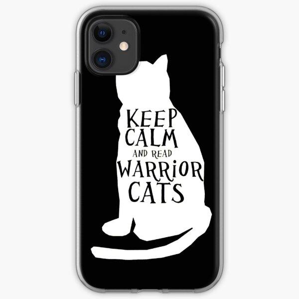 keep calm warrior cats iPhone Soft Case