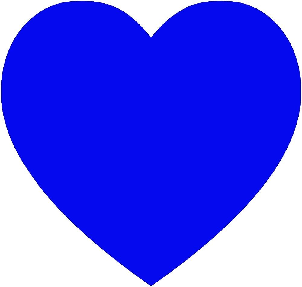 Blue heart by rachelshade