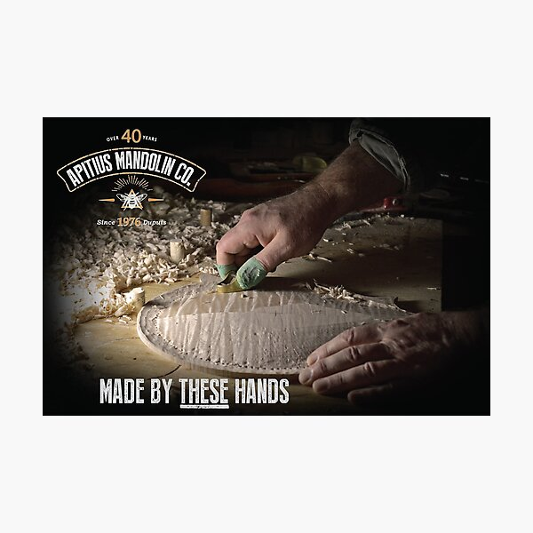 """""""Made by These Hands"""" Poster Photographic Print"""