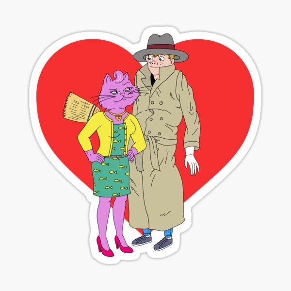 Princess Carolyn ❤️ Vincent Adultman Sticker