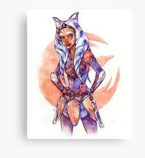 SWR Ahsoka Tano Canvas Print