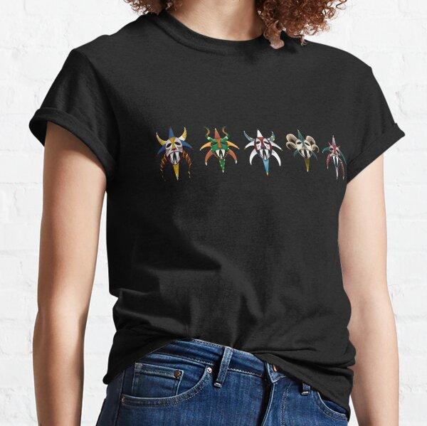 Vejigantes Puerto Rico 5 Classic T-Shirt