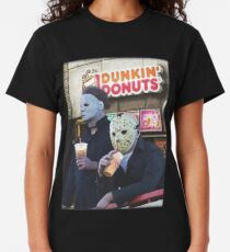 Dunkin Donuts T Shirts Redbubble - roblox develop yok abs t shirt roblox free