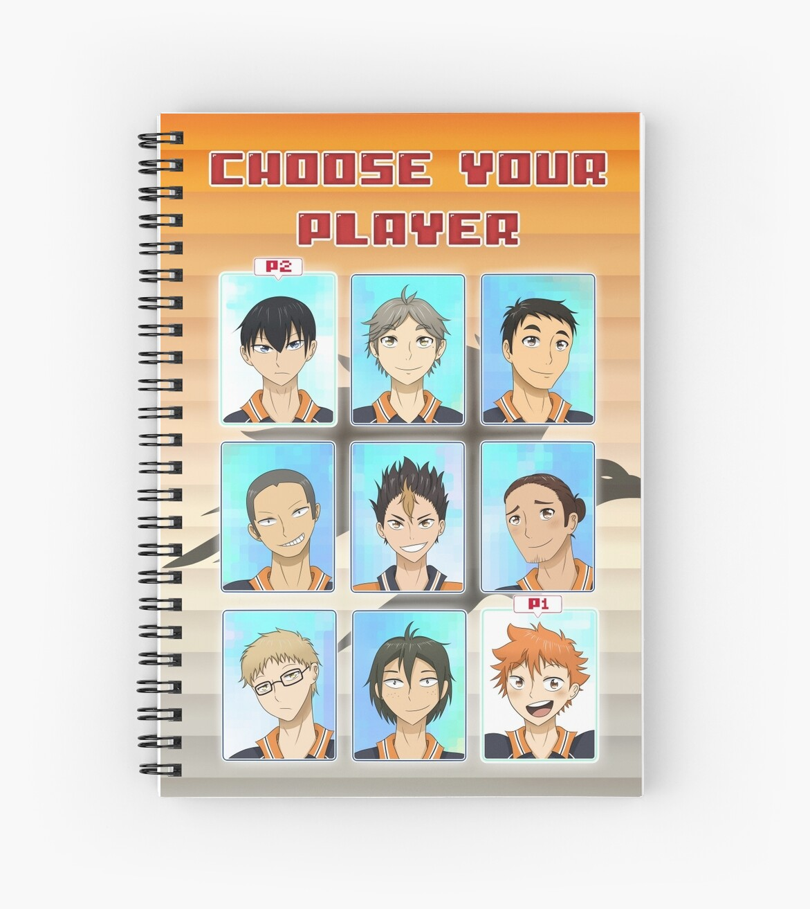 Choose Your Player by cartoonartist
