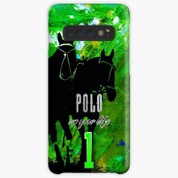 polo horses green Samsung Galaxy Leichte Hülle