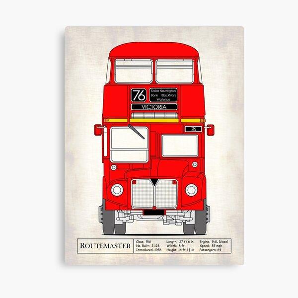 Routemaster London Bus Canvas Print