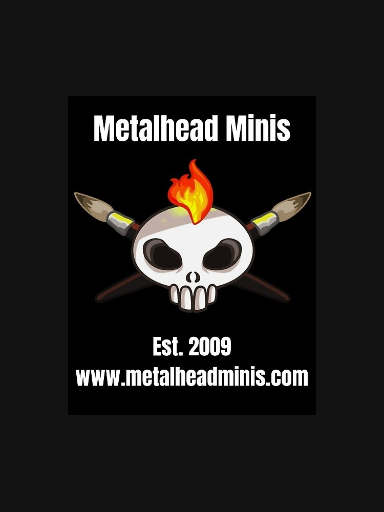 Metalhead Minis Logo - Large - 10 Year Anniversary by MetalheadMinis