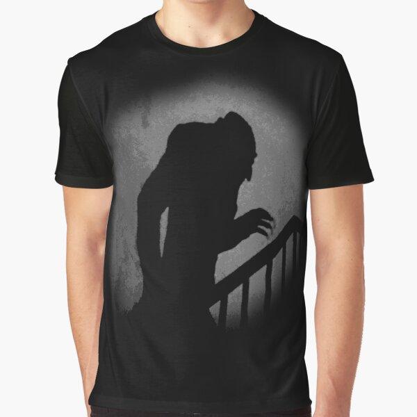 Nosferatu Silhouette Graphic T-Shirt