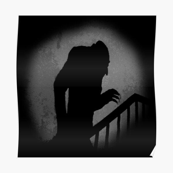 Nosferatu Silhouette Poster