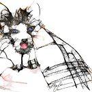 Kitten Bath by Alma Lee