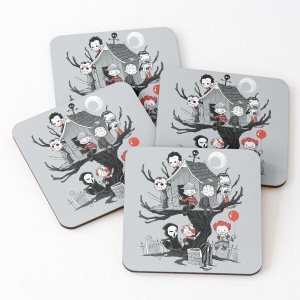 Horror House Coasters (Set of 4)