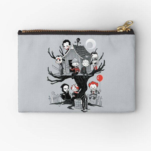 Horror House Zipper Pouch