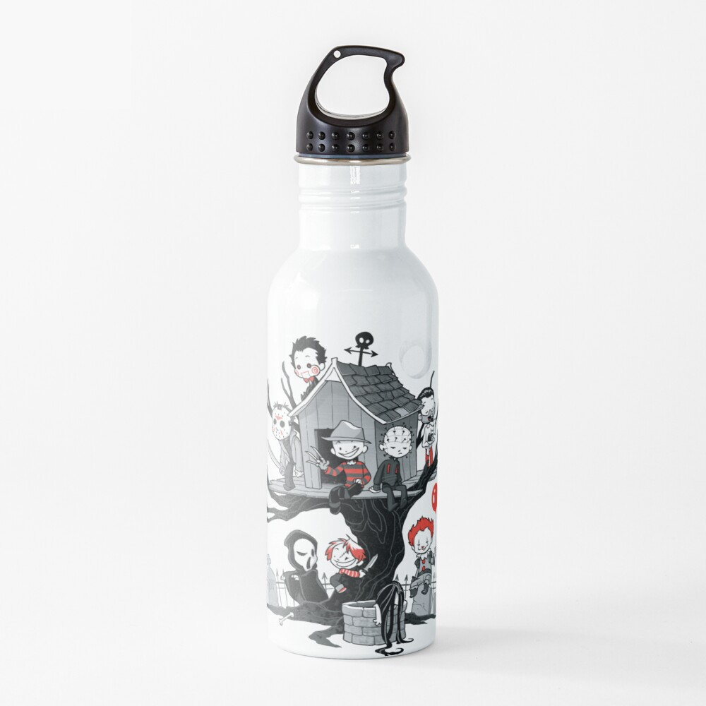 Horror House Water Bottle