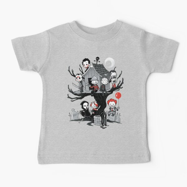 Horror House Baby T-Shirt