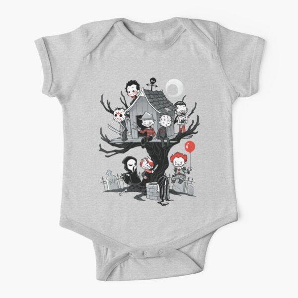 Horror House Short Sleeve Baby One-Piece