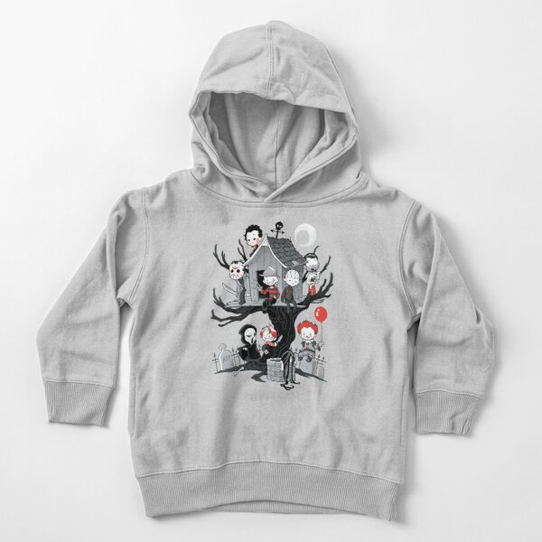 Horror House Toddler Pullover Hoodie