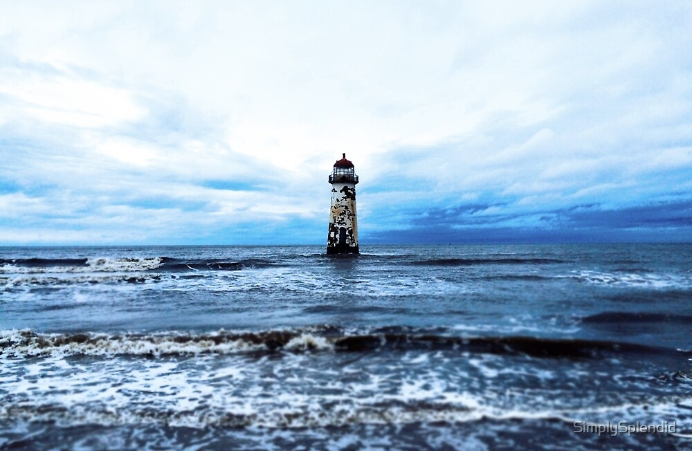 The Lighthouse in the Sea by SimplySplendid