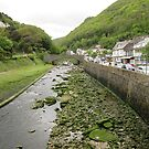 Exmoor river by bibblesbunnies