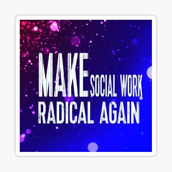 The Roving Social Worker Sticker