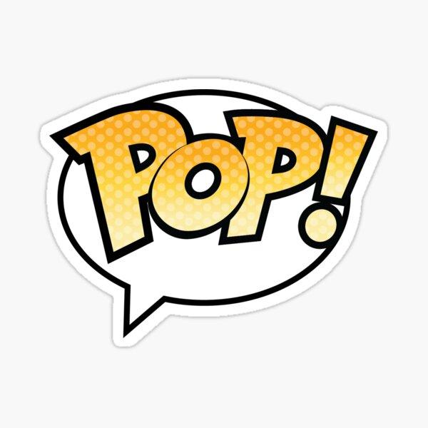 Funko Pop! Autocollant de logo Sticker