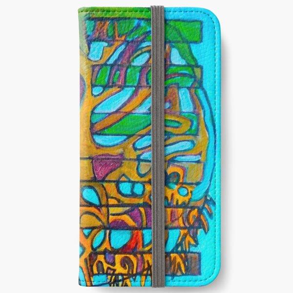 Hexagram 46: Shēng (Pushing Upward) iPhone Wallet