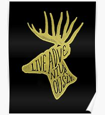 Live Adventurously Poster
