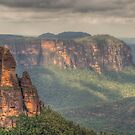 Leap of Faith - Govetts Leap, Blue Mountains, Sydney Australia - The HDR Experience by Philip Johnson