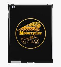 Vintage Indian Motorcycles  iPad Case/Skin