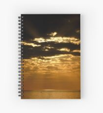 Sunset over Sanibel Island in Florida Spiral Notebook
