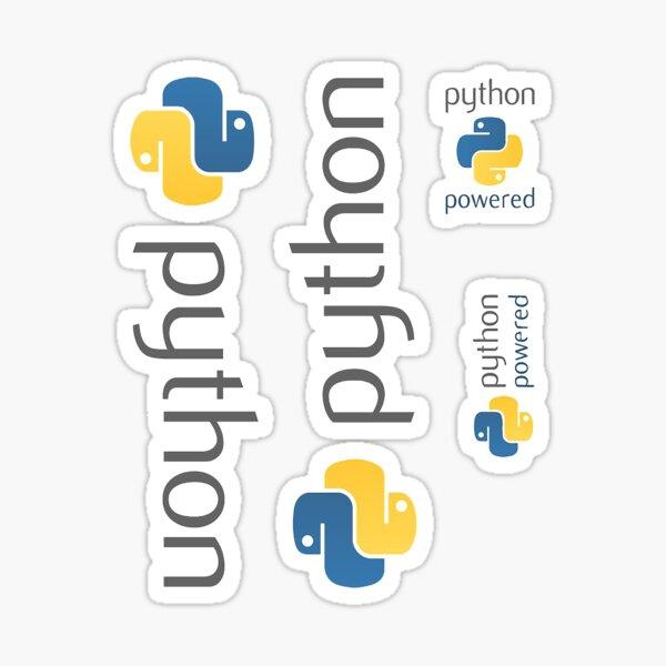 Python Logo Sticker Pack Sticker