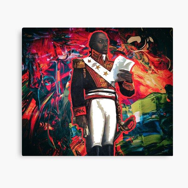 Toussaint Louverture  Abstract Canvas Print
