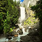 Vernal falls in color by Crystal Fobare
