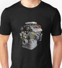 Alfa Romeo V6 Front View Unisex T-Shirt