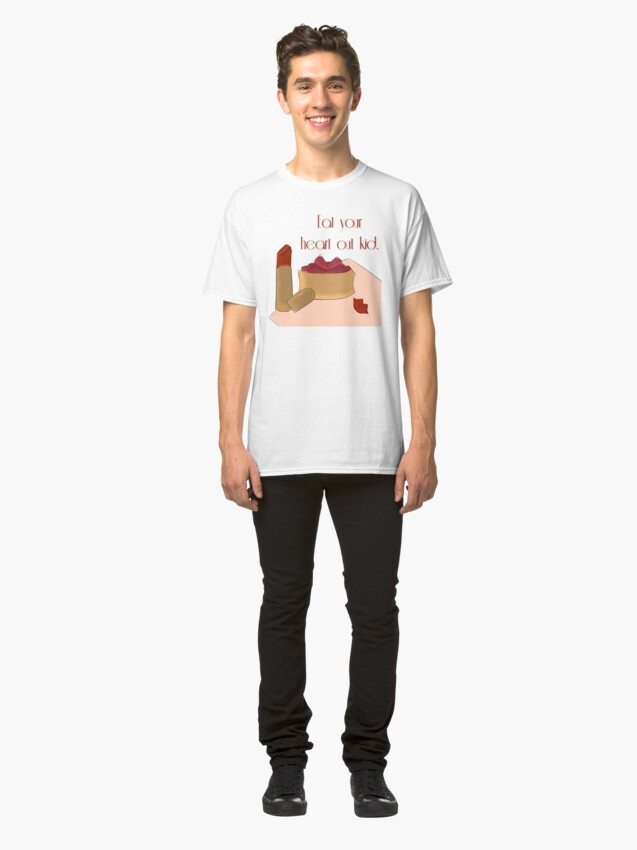 Alternate view of Eat Your Heart Out Kid Classic T-Shirt