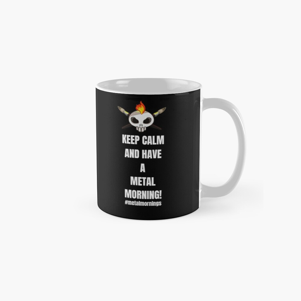 Metalhead Minis - Metal Mornings - Twitch Mug