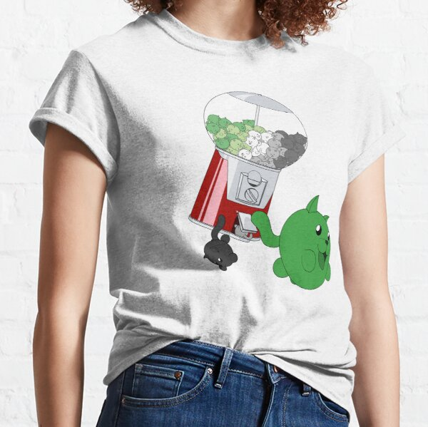 Cat Gumball Machine - Aromantic Classic T-Shirt