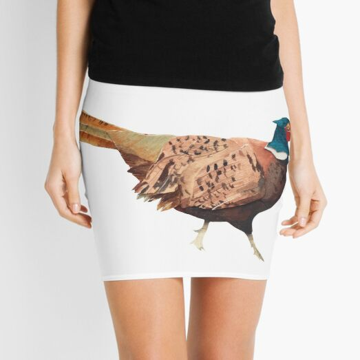 The Fancy Pheasant Mini Skirt