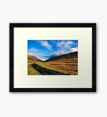 Looking Towards Wrynose Pass Framed Print