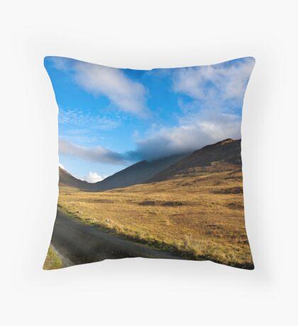 Looking Towards Wrynose Pass Throw Pillow