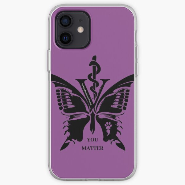 Vet Med After Hours You Matter Butterfly Galaxy Phone Cases iPhone Soft Case