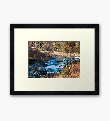 River Duddon above Birks Bridge Framed Print
