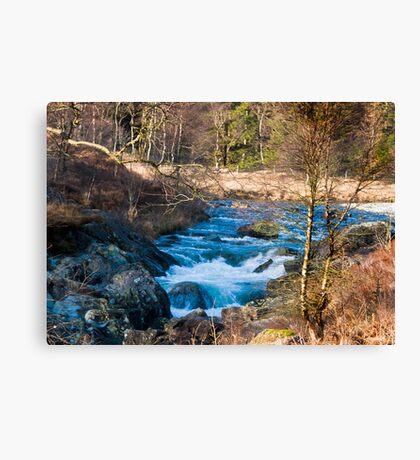 River Duddon above Birks Bridge Canvas Print