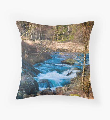River Duddon above Birks Bridge Throw Pillow