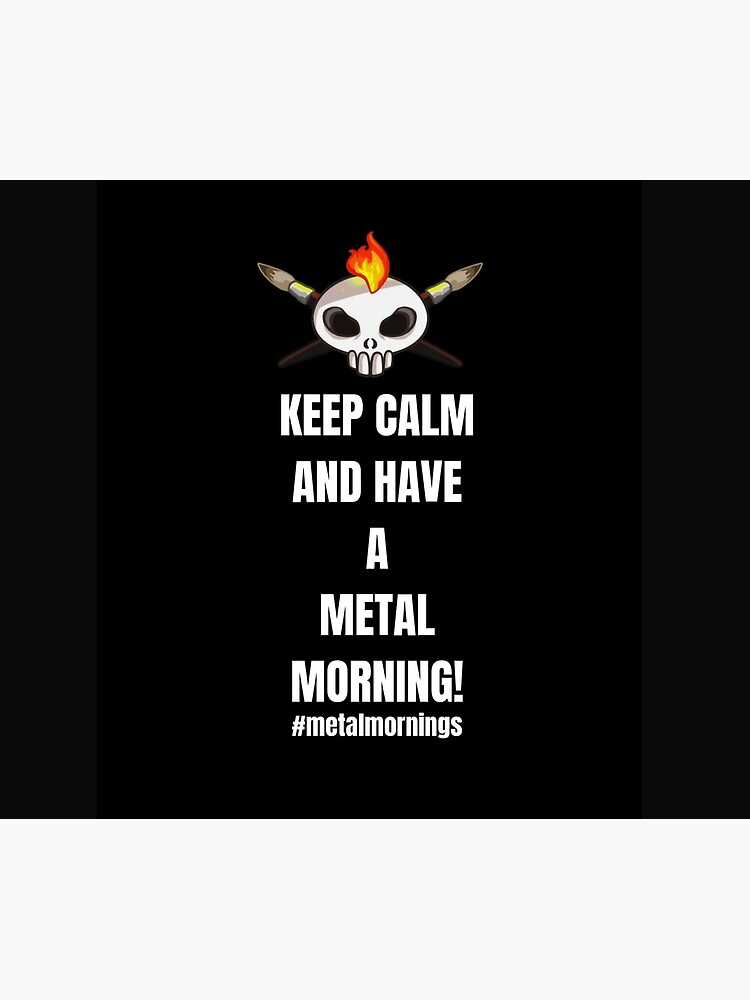 Metalhead Minis - Metal Mornings - Twitch by MetalheadMinis