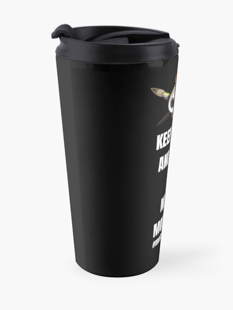 Alternate view of Metalhead Minis - Metal Mornings - Twitch Travel Mug
