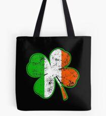 Bolsa de tela Shamrock irlandés