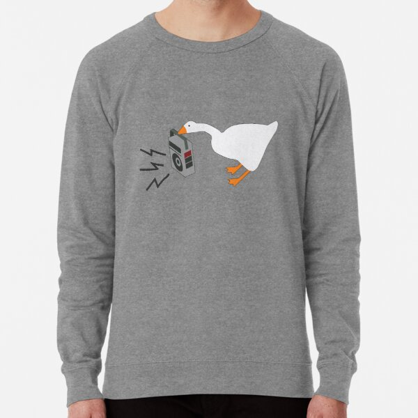 Untitled Goose With Boombox Radio | Shirt Lightweight Sweatshirt