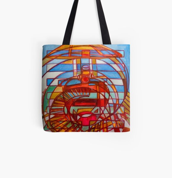Hexagram 48: Jĭng (The Well) All Over Print Tote Bag