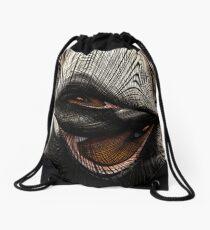 Eye of the Owl Drawstring Bag